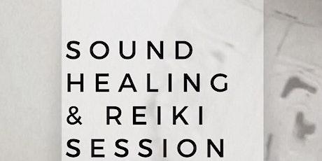Sound Healing and Reiki tickets
