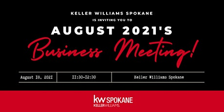 August Business Meeting tickets