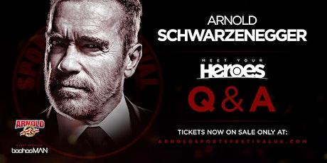 *SATURDAY*Arnold Schwarzenegger  'Meet Your Heroes'  HALL 9- NEC BIRMINGHAM tickets