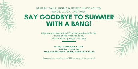 Say Goodbye to Summer With a Bang tickets