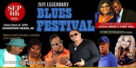 2021 Legendary Blues Festival tickets