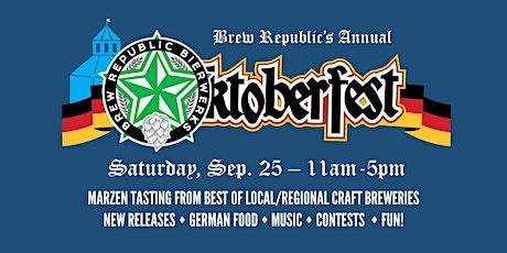 Oktoberfest 2021 at Brew Republic tickets