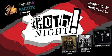 STAR Pow-R 'Buy Local' Concert Series - Goth Night tickets