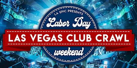 Labor Day Weekend Las Vegas Club Crawl tickets
