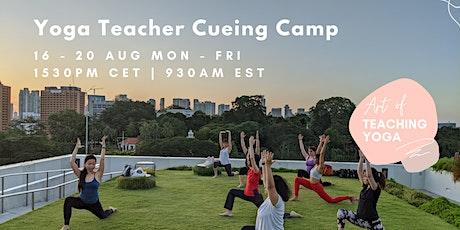 Yoga Teacher Cueing Camp: 5 Day Challenge tickets