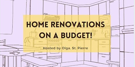 Easy Home Renovation on a Budget! tickets