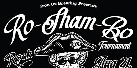 Ro-Sham-Bo (Rock, Paper, Scissors) Tournament at Iron Ox Brewing tickets