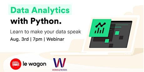 Data Analytics Webinar (Women only) tickets