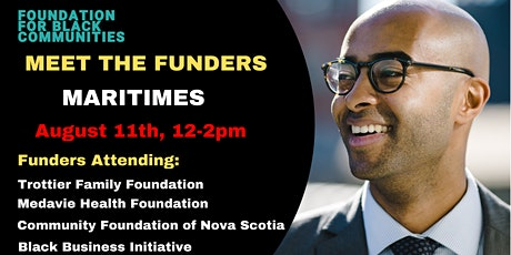 Foundation for Black Communities Presents: Meet the Funders - Maritimes tickets