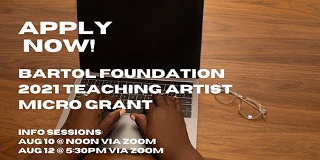 Teaching Artist Micro-Grant Information Session #2 tickets