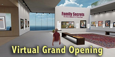 Grand Opening of The Family Secrets Exhibit & NFT Drop tickets