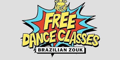 Free Latin Dance Class - Brazilian Zouk - 26th Aug tickets