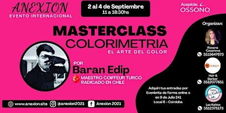 ANEXION 2021 MASTER CLASS COLORIMETRIA PARTE II entradas