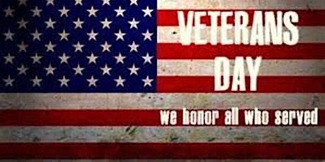 Veterans Day Dinner tickets