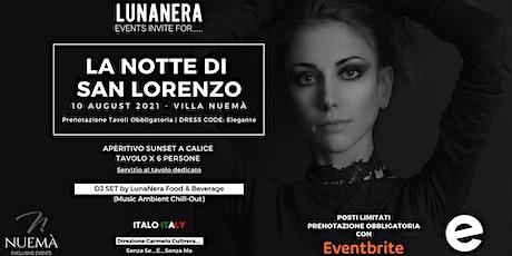 La Notte di San Lorenzo | Villa Nuema | 10.08.2021 biglietti