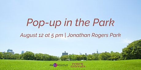 Pop-up in the Park tickets