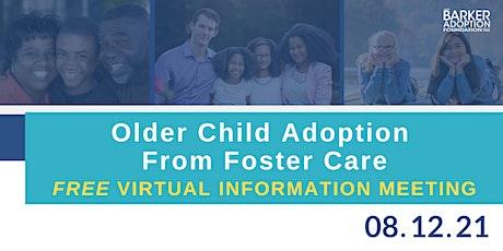 Older Child Adoption Information Meeting tickets