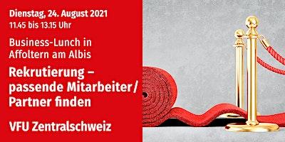 Business-Lunch in Affoltern, Zentralschweiz, 24.08.2021