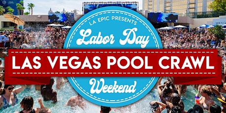 Labor Day Weekend Las Vegas Pool Party Crawl tickets