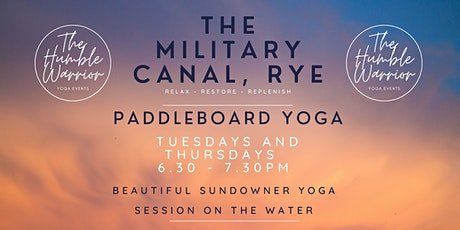 Paddleboard yoga @ The Royal Military Canal, Rye tickets