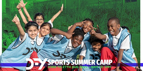 HAF - DFY Sports Summer Camp for children 5 to 12 years tickets