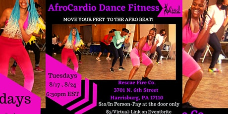 AfroCardio Dance Fitness (VIRTUAL CLASS) tickets