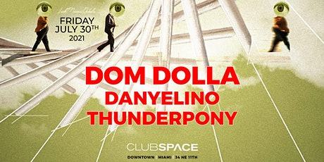 Dom Dolla @ Club Space Miami tickets