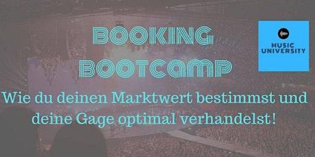 Booking Bootcamp (Zoominar) biglietti