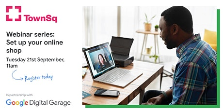 Google Garage: Set Up Your Online Shop Tickets