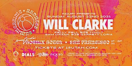 WILL CLARKE - Poolside Day Party @ Phoenix Hotel tickets