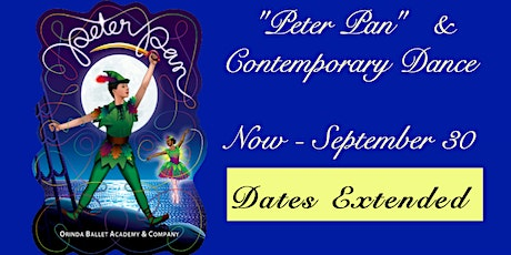 """""""Peter Pan"""" & Contemporary Dance,  Orchid Cast tickets"""