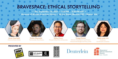 BraveSpace: Ethical Storytelling - Fierce Urgency of Now! tickets