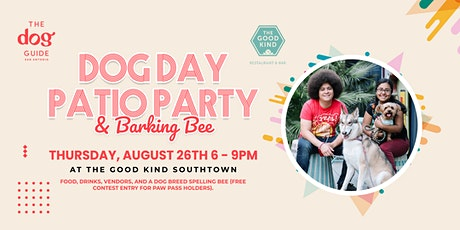 Dog Day Patio Party & Barking Bee tickets