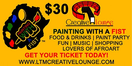 Creative Lounge Painting with a Fist tickets
