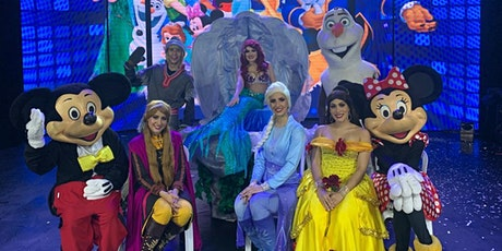 "Desconto para ""Disney Magic Show"" no Circo Moscou ingressos"