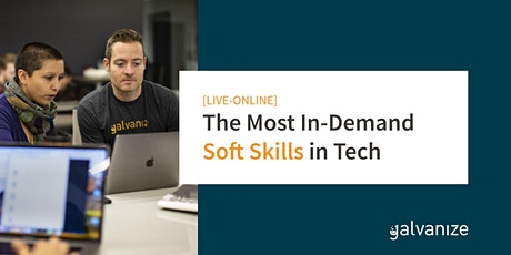 The Most In-Demand Soft Skills in Tech [LIVE-ONLINE] tickets