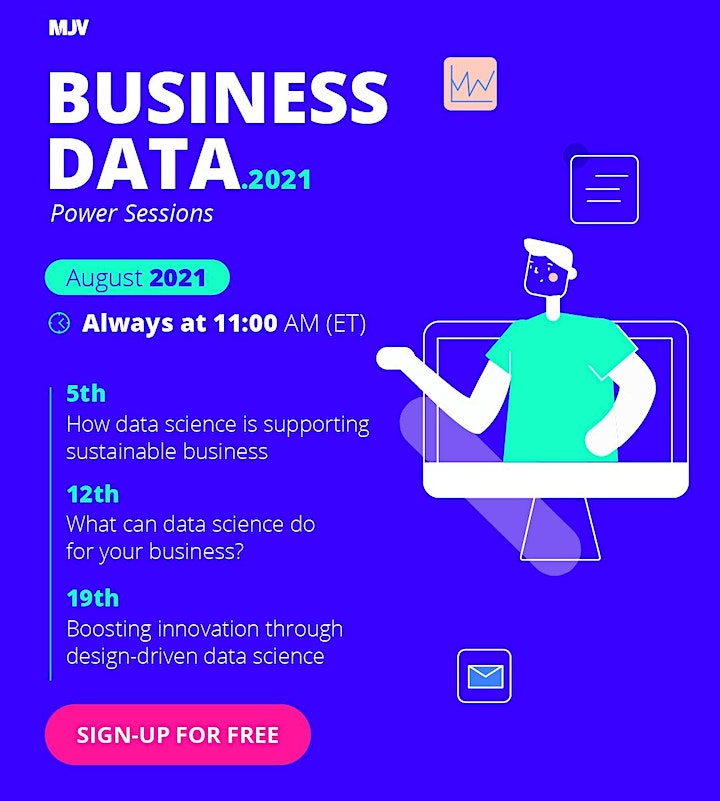MJV Power Sessions:  How data science is supporting sustainable business image