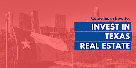 Invest in TEXAS Real Estate with a community of Investors, Orientation biglietti