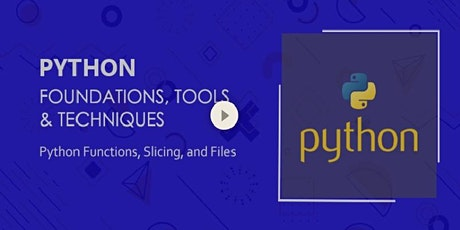 Python Functions, Slicing, and Files tickets