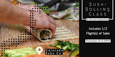 Sushi Rolling Class - In Person tickets