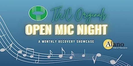 TWC Originals Open Mic Night tickets