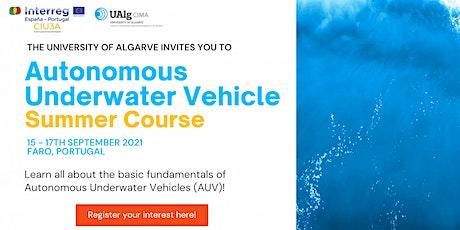 Autonomous Underwater Vehicle Summer Course tickets