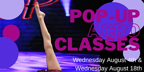 Pop Up Acro: Tumbling tickets