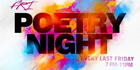 The REACH Podcast Show presents LAST FRIDAYS Poetry Nite @ THE BLACK STORE tickets
