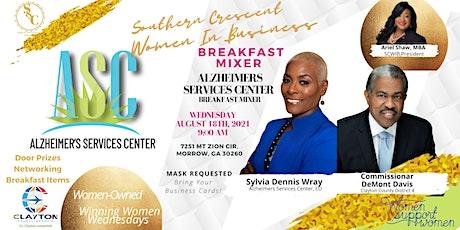 Breakfast Mixer: Sylvia of The Alzheimer's Services Center & Comm Davis! tickets