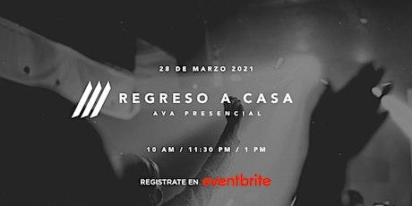 Reunión Presencial Iglesia AVA | 1:00 pm entradas