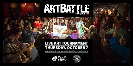 Art Battle Tacoma - October 7, 2021 tickets