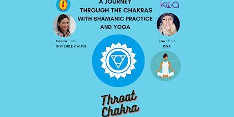 Throat Chakra: ONLINE A Journey through Chakras with Shamanic Practice and biglietti