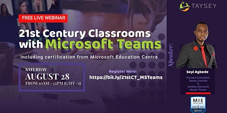 21st Century Classrooms with Microsoft Teams tickets