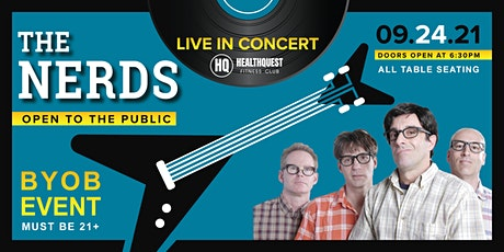 The Nerds - Live at HealthQuest tickets